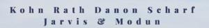Kohn Rath Danon Scharf Jarvis & Modun