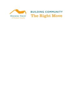Housing Trust of Rutland County